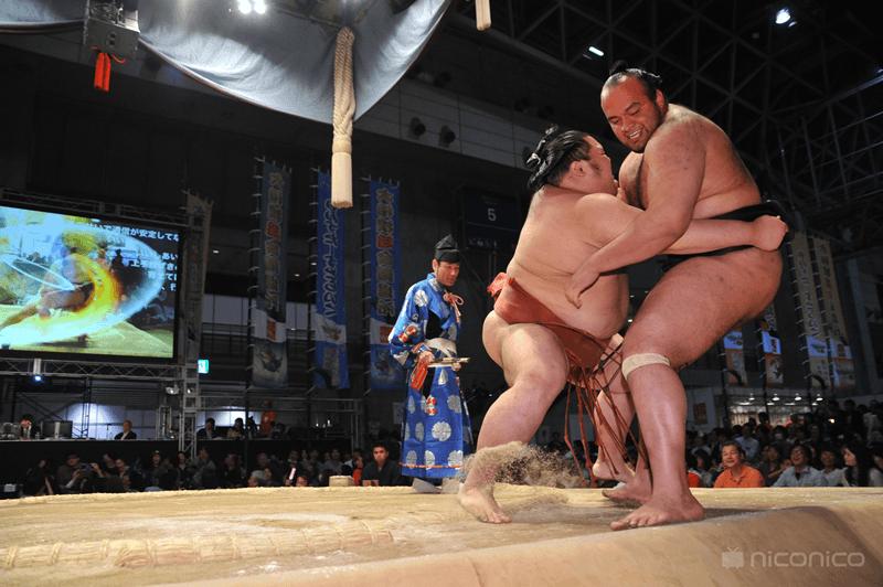 Ryogoku Kokugikan, la plus grande arène de Sumo du Japon où.